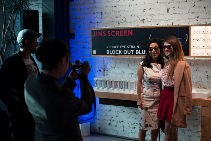 jINS SCREEN LAUNCH PARTY