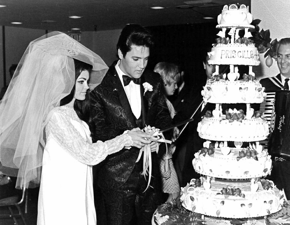 Elvis Wedding Priscilla