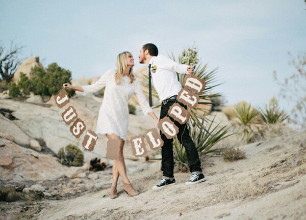 Eloping the last faux pas moira hughes couture for Elope meaning