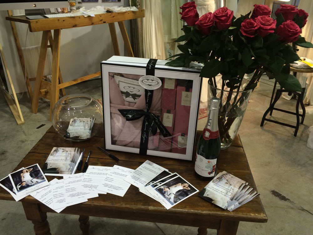 Pamper Hamper Bride Winner Moira Hughes bridal