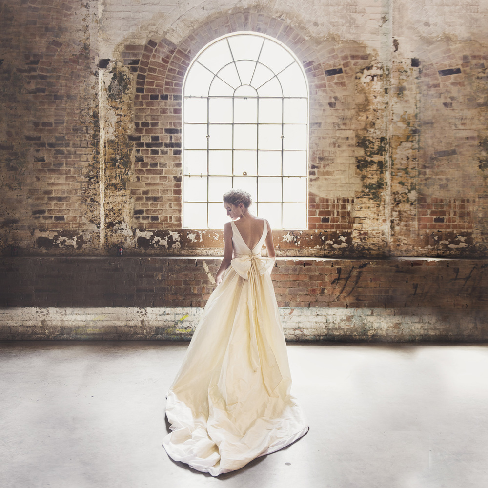 Moira Hughes Couture - Pearl Gown