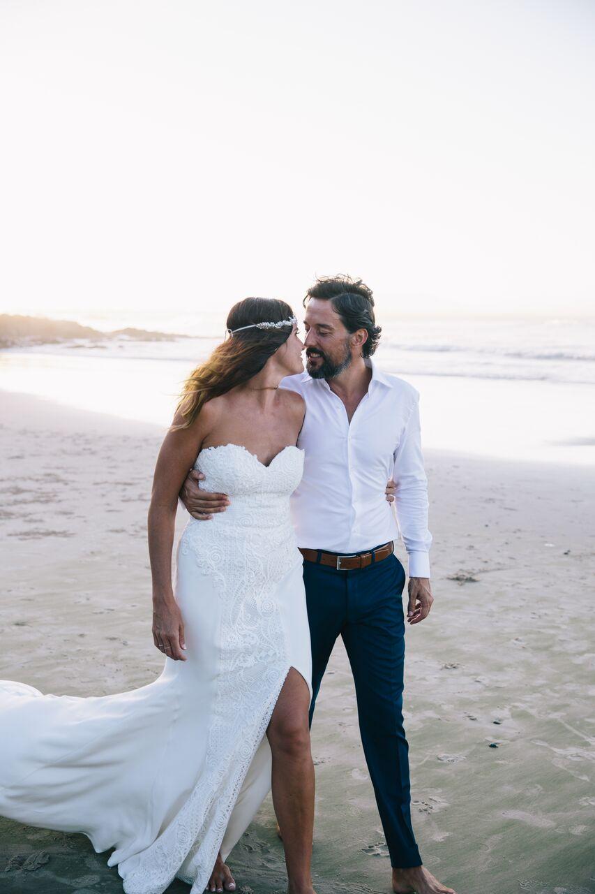 Byron Bay Wedding - Sydney wedding gown designer - Moira Hughes