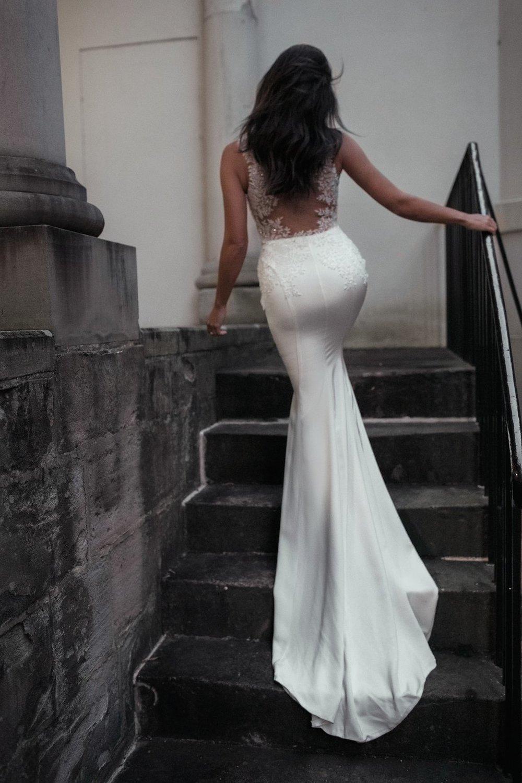 Low Back Wedding Dresses Sydney : Marley moira hughes couture wedding dresses sydney