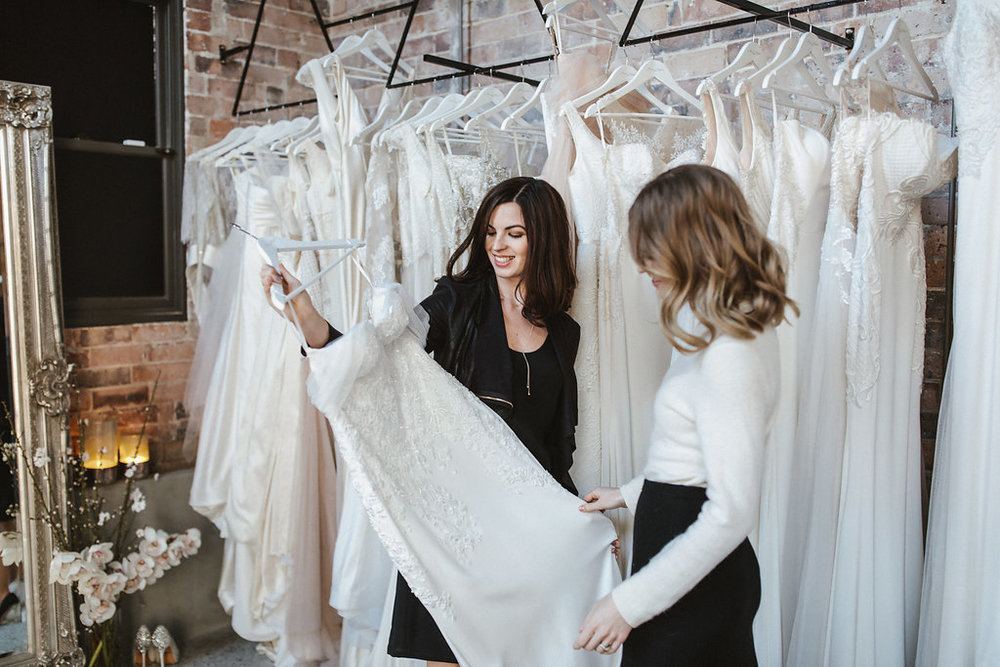 Moira Hughes gowns custom made