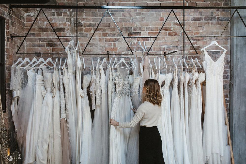 Moira Hughes Gowns Sydney Wedding