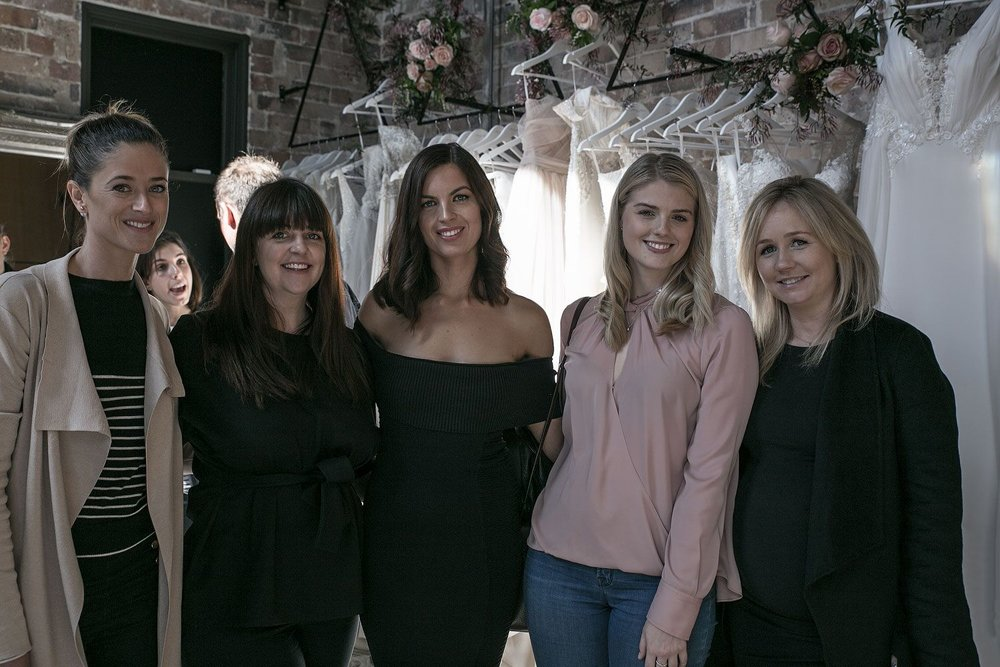 Pictured with the incredible  One Fine Day  team (left to right) Marissa, Jess, Moira, Sophie and Nadean.