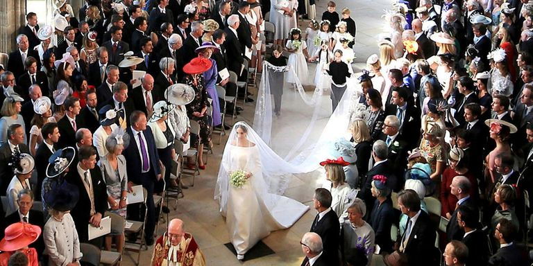 Meghan Markle Wedding Dress Veil Wedding Aisle Royal Wedding .jpg