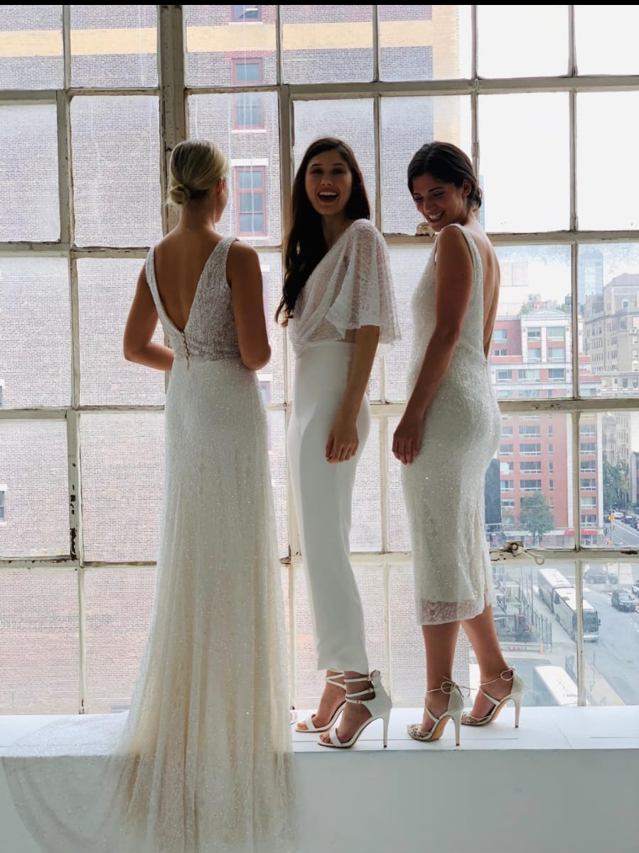 Harriet, Florence and Scarlett gowns - New York Bridal Week