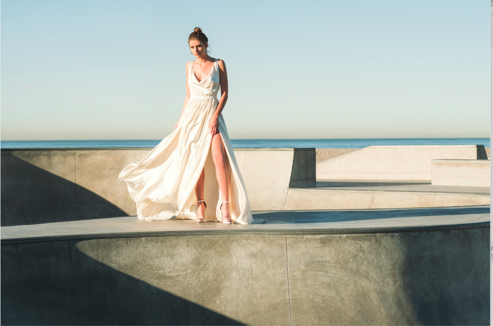 Moira Hughes Couture LA Weddign Dress Lovestruck collection
