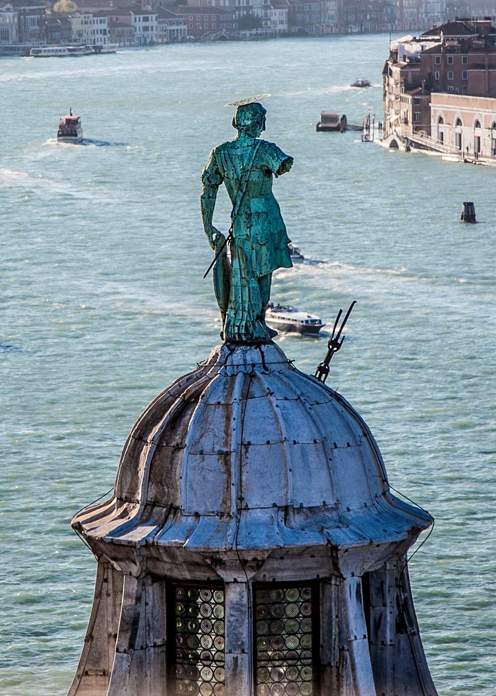Over looking the Venetian Lagoon