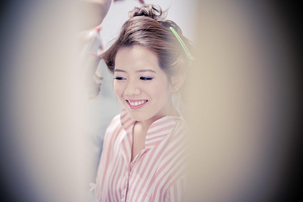 bride make up Bokelicious Photography
