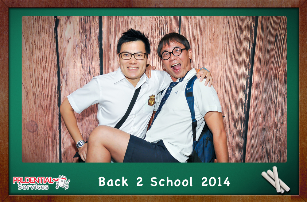 Photo Booth Back to school