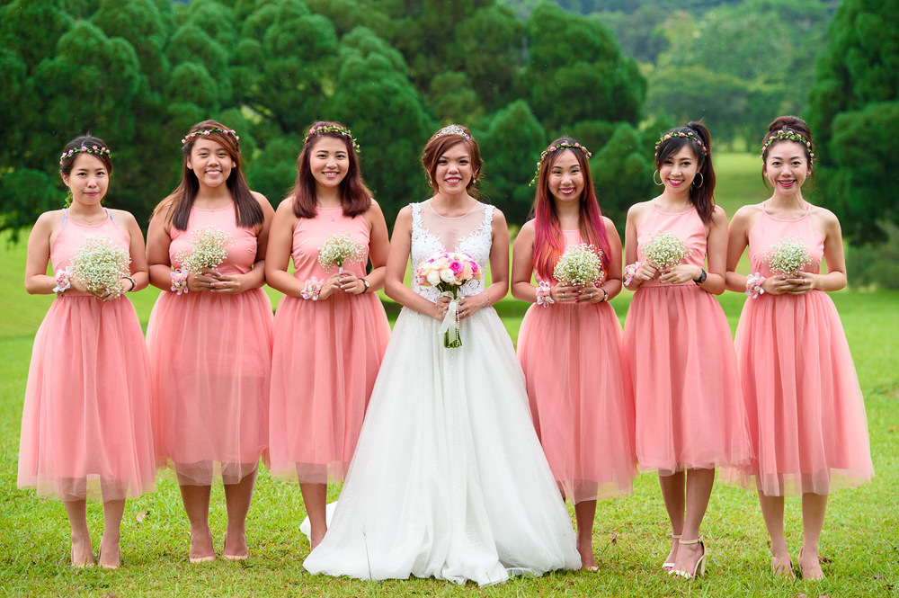 actual day wedding singapore photographer
