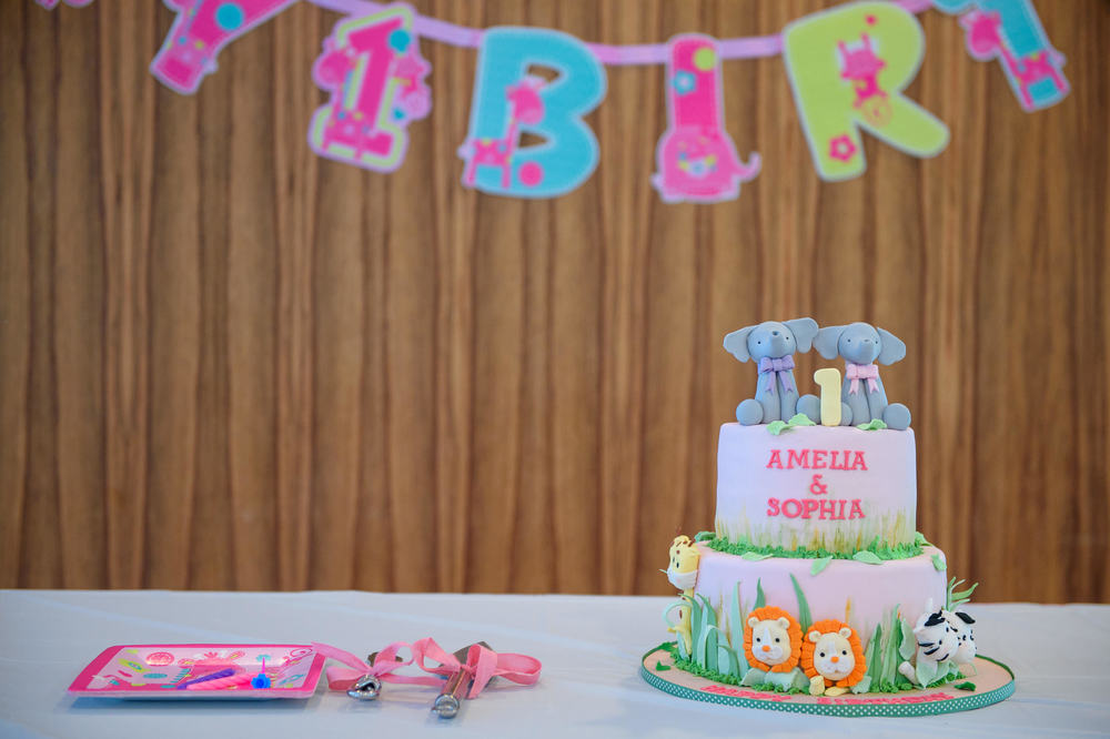 birthday party table setup