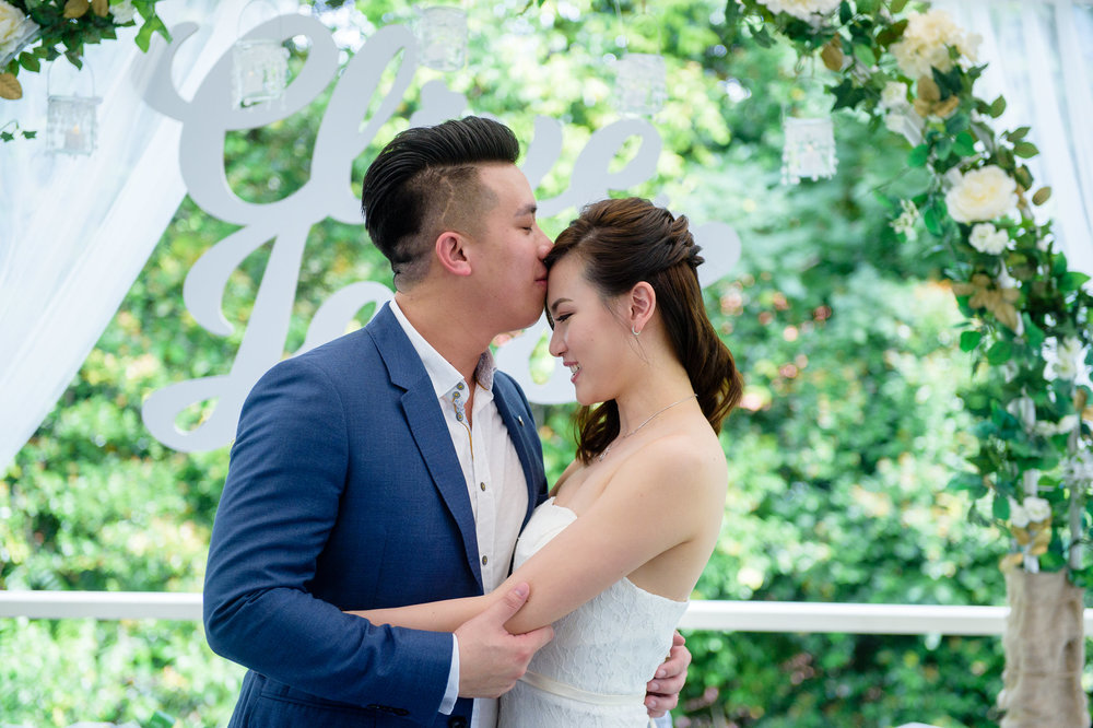 ROM Wedding Kiss Bokelicious Photography