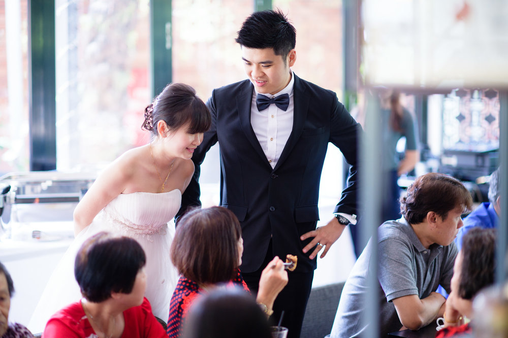 Singapore rom wedding