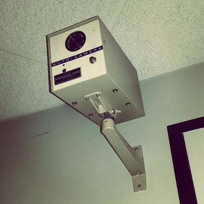 The original security camera from 1973. Thankfully, things have changed for the SMALLER.