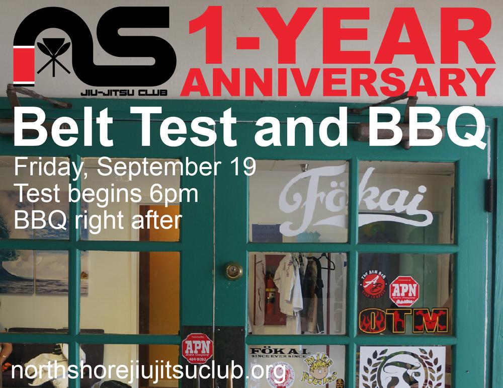 NSJJ 1-Year Anniversary