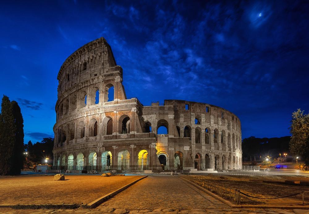 Blue Colosseum