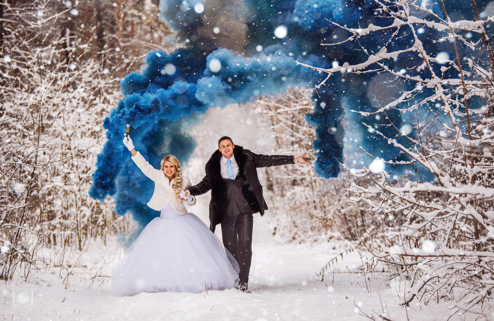 Свадебные фото (Сборка зима)