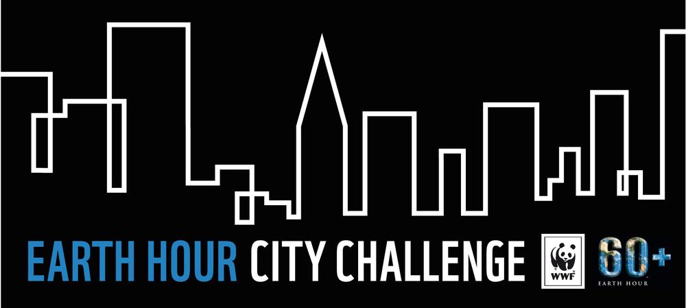 Klicka på loggan för att komma till Earth Hour City Challenge!