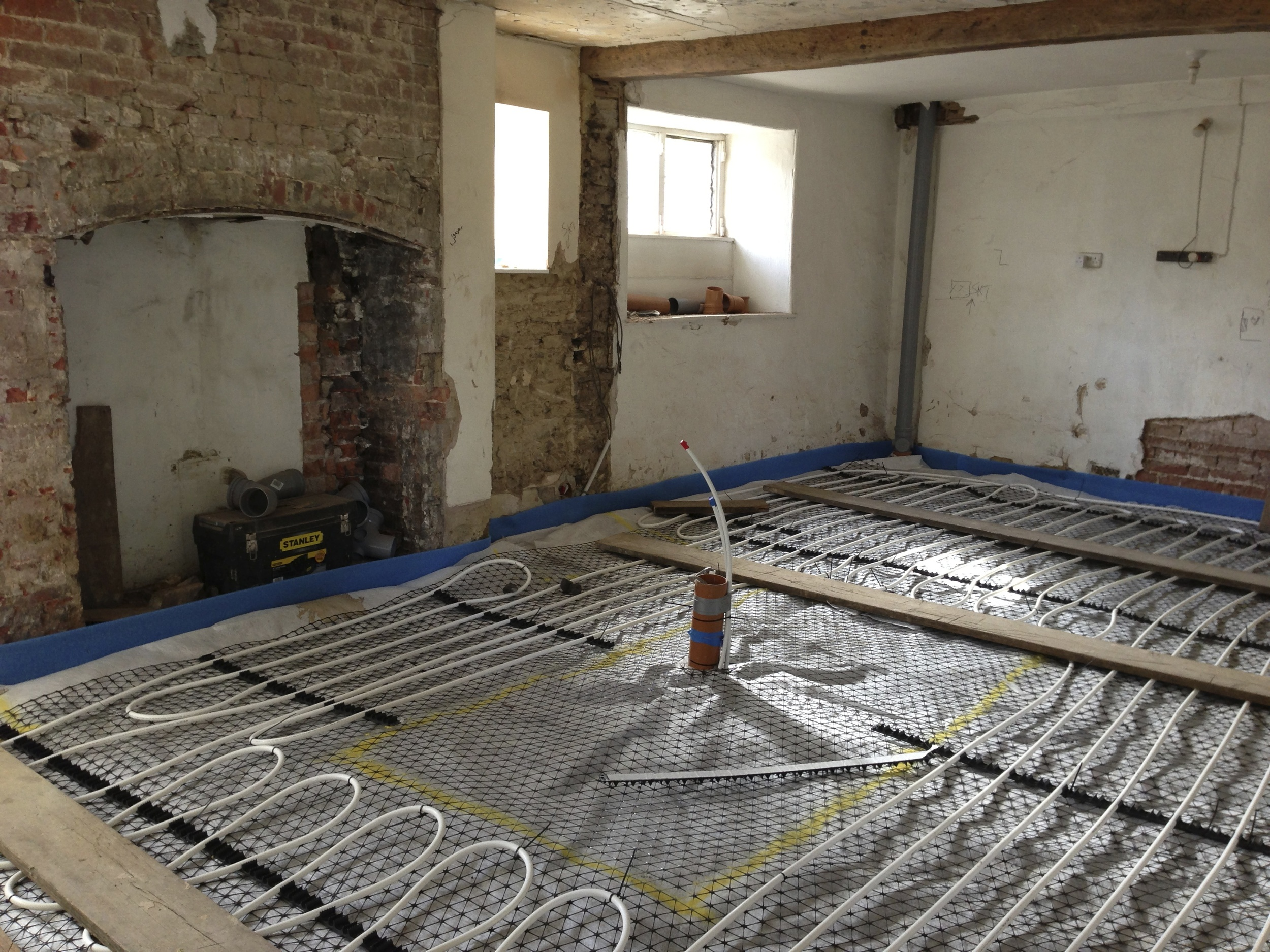 kitchen underfloor heating