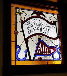 For All the Saints stained glass,   All Saints Episcopal Church  , Jensen Beach, Florida
