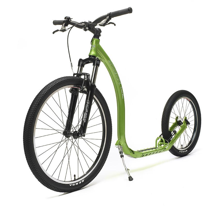 Kickbike cross max 20V with full suspension forks, alloy frame and V brakes