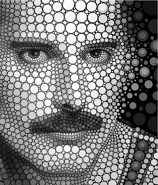 Freddy Mercury  by Ben Heine