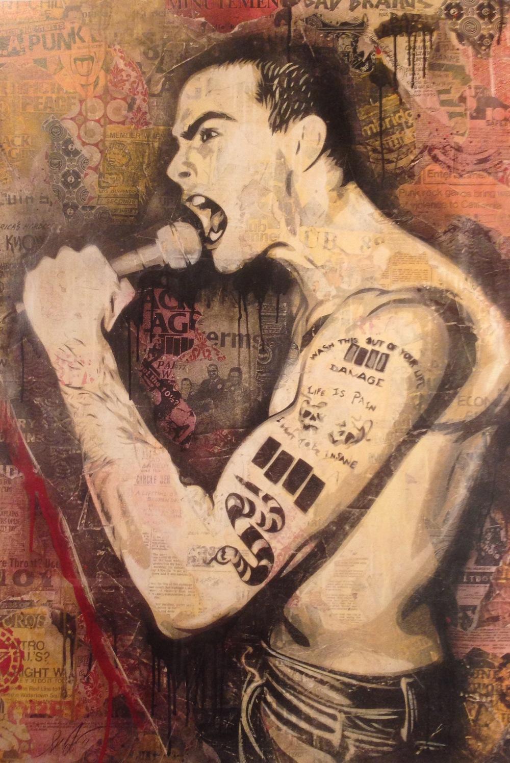 """Henry Rollins"" (2011) by Shepard Fairey"