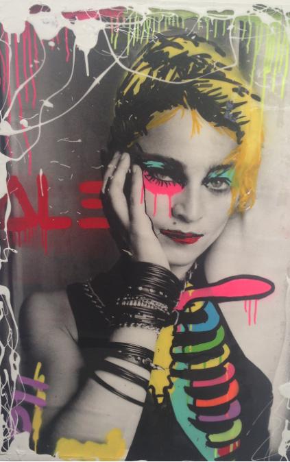 """"""" Madonna Ribbed"""""""
