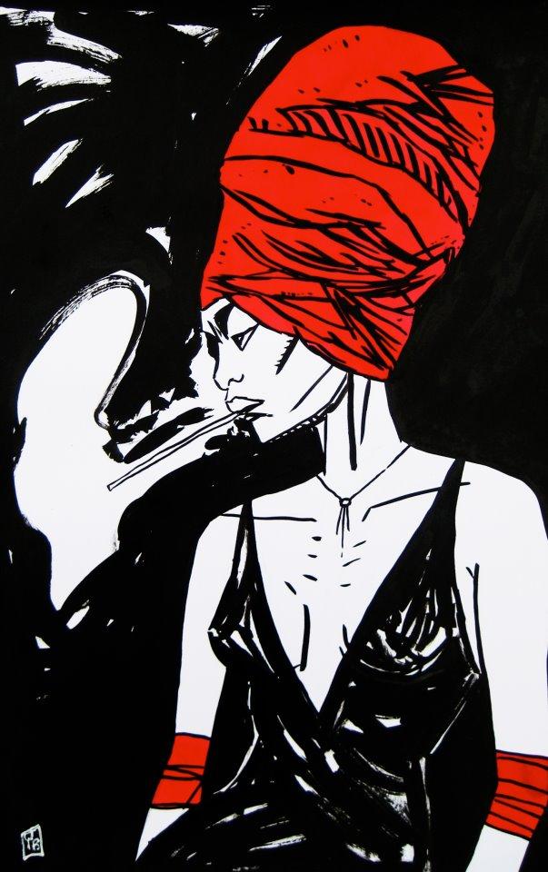 Artwork by  Yves Budin