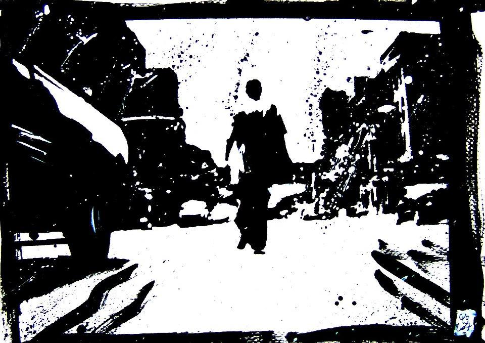 «Madlib Street Scene»