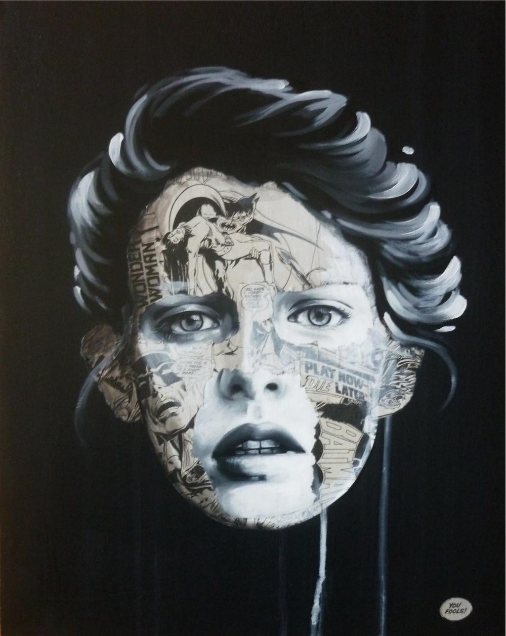 """""""La Cage peut être que tout ceci était un rêve"""", 20X16, 2013"""
