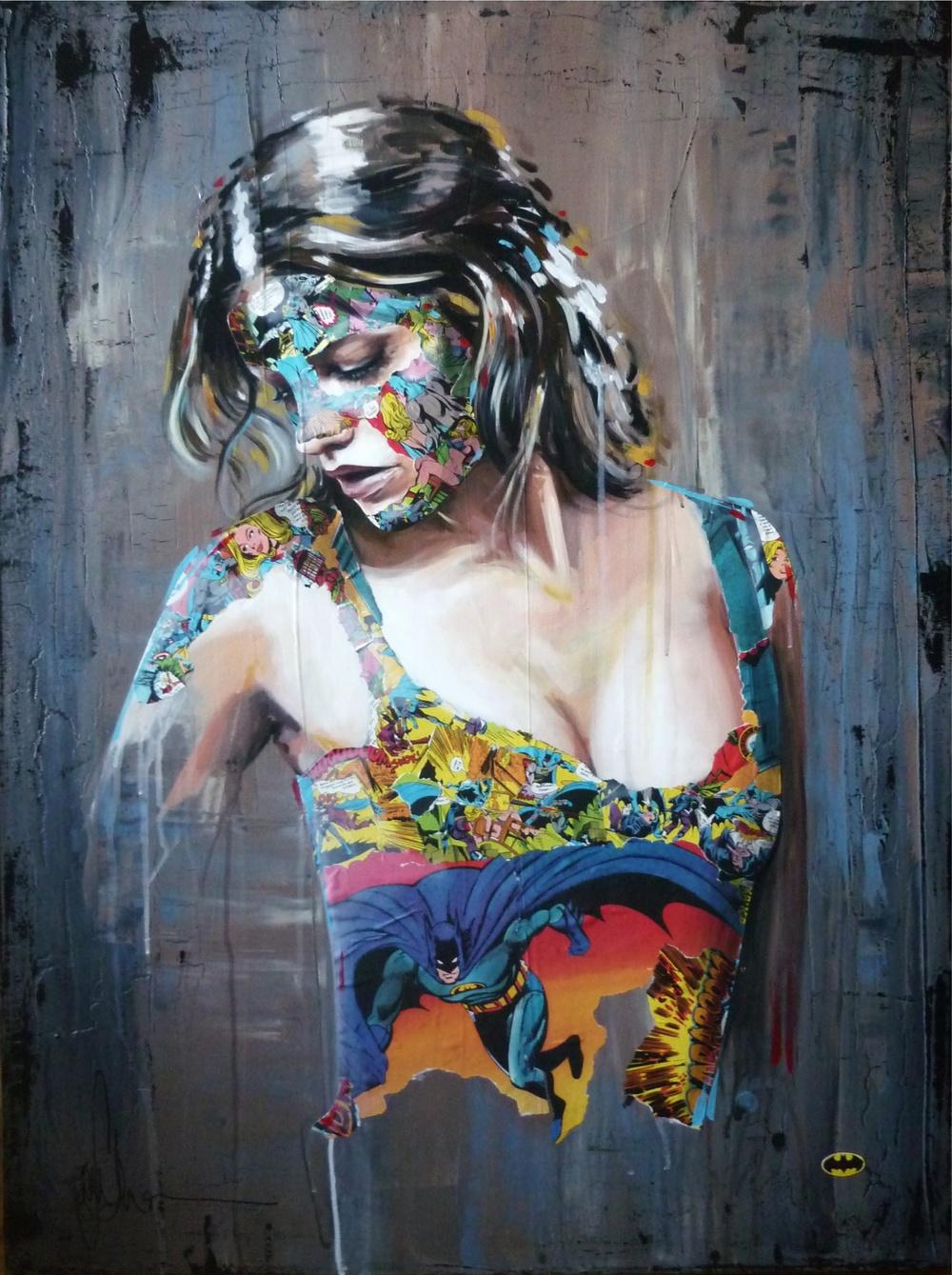 """""""La Cage les dames délivrées"""", 40X30, 2013"""
