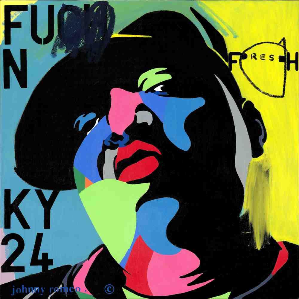 Johnny Romeo, Fresh, 2015, acrylic and oil on canvas 76cm  x 76cm.jpg