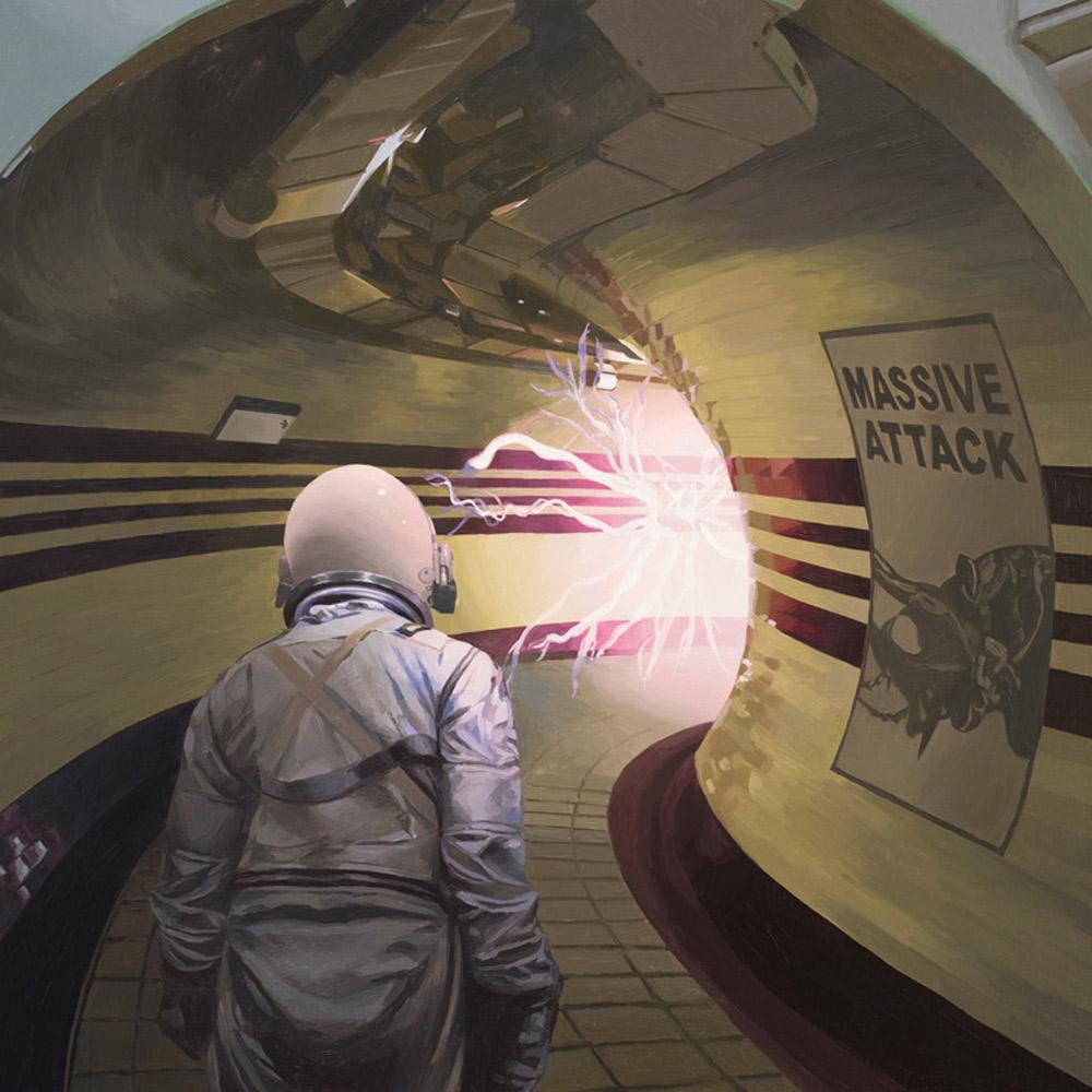 LONDON MASSIVE ATTACK, 50.8 X 50.8 CM