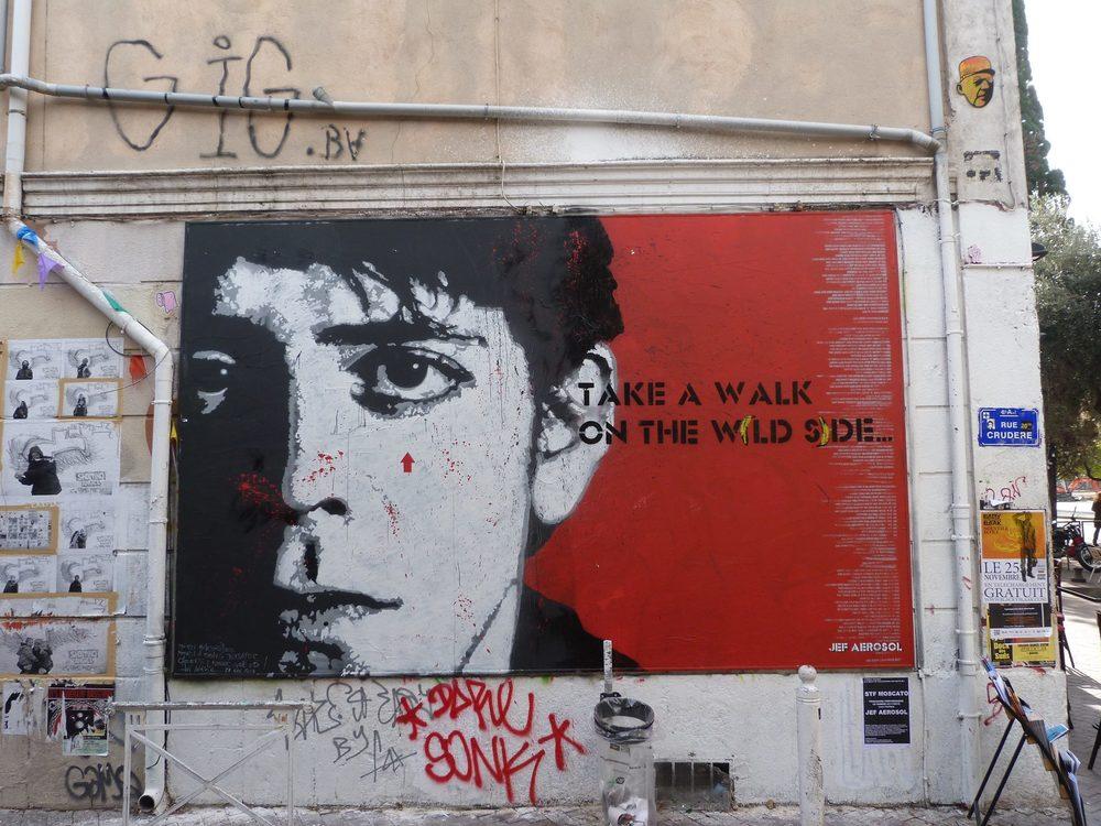 Lou Reed, le M.U.R Marseille 2013