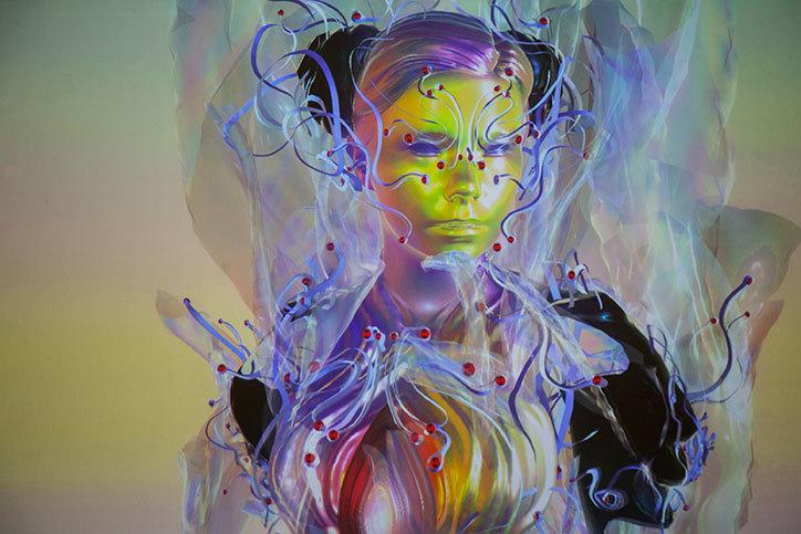 Bjork Digital: Vulnicura album artwork
