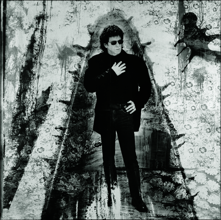 Magic and Loss, Lou Reed, Fondation Cartier, Jouy en Josas, France, 1990, 200x200cm