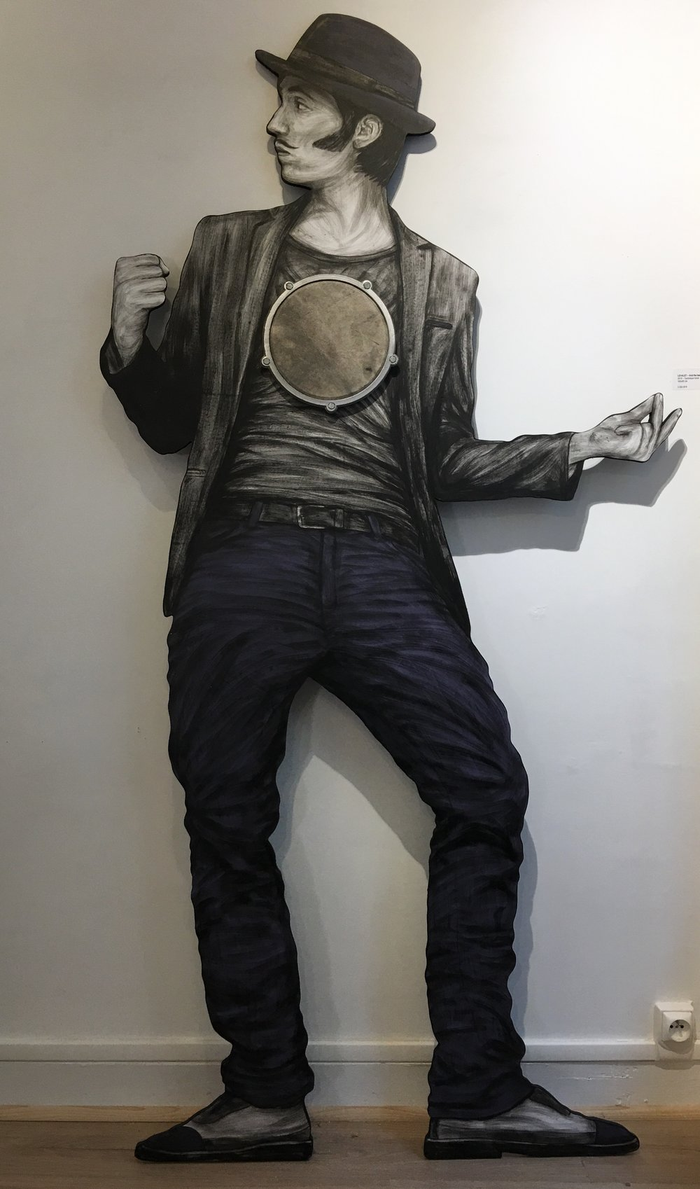"""And The Beat Goes On"" © Levalet"