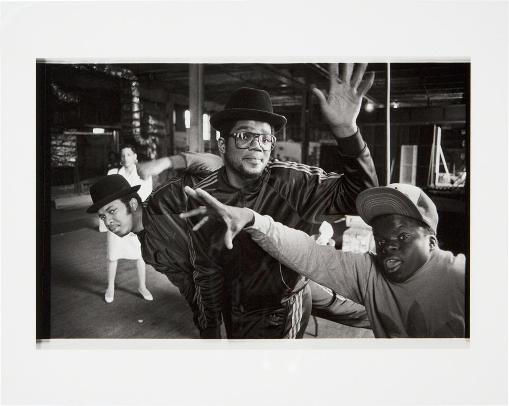 Josh Cheuse Run DMC and Teddy No Neck at Silvercup Studios, Queens, NY 1985, 2009 Other Criteria