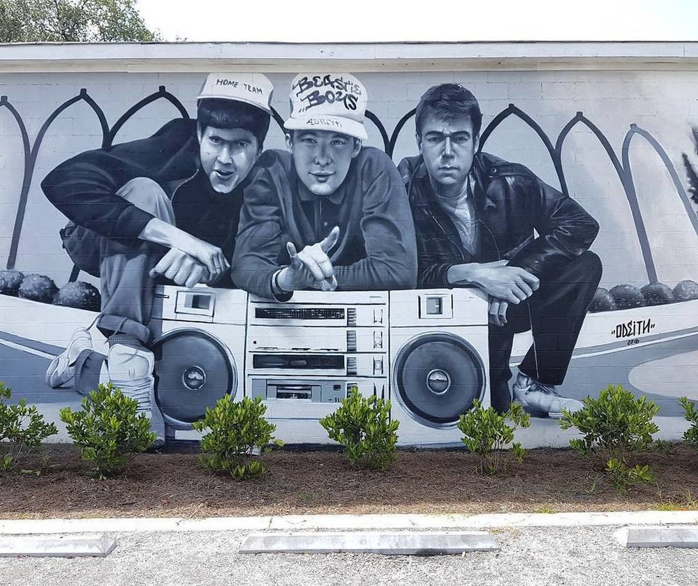 Beastie Boys by Odeith