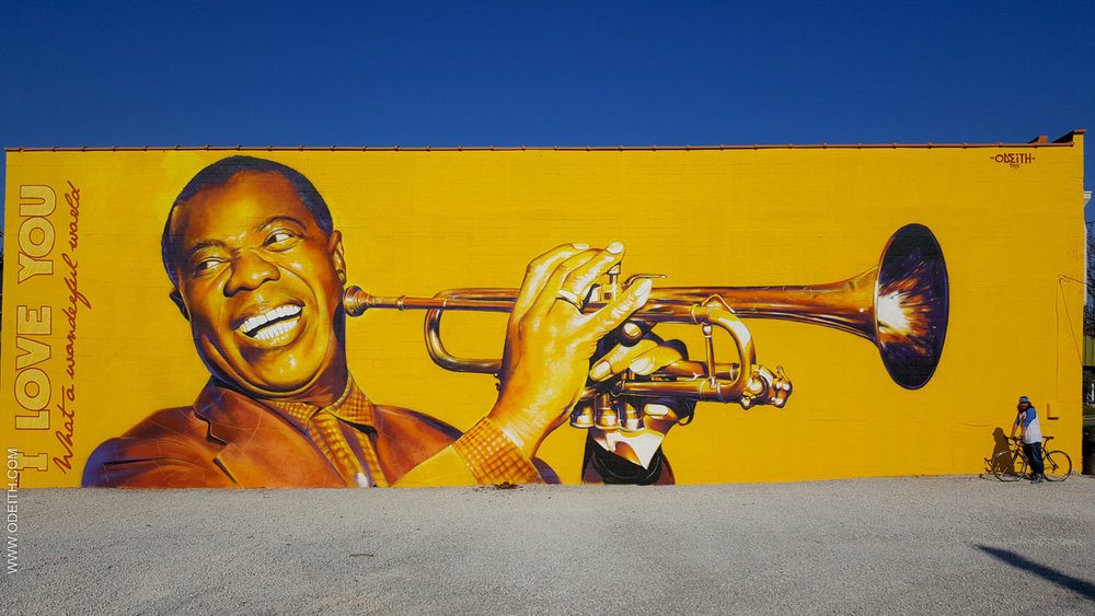 Louis Armstrong by Odeith