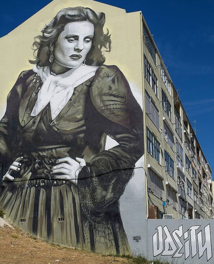 Amália Rodrigues by Odeith