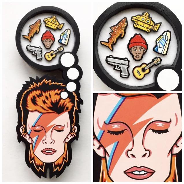 David Bowie/ Seu Jorge