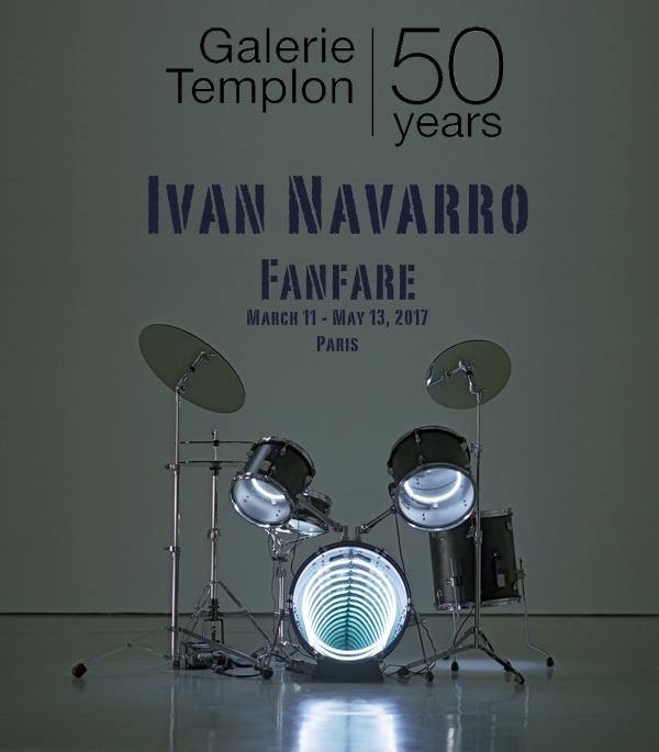 Drums, 2009 Neon lighting, plywood, metal, mirror, electric energy 122 x 160 x 122 cm 48 x 63 x 48 in.  Photo : Jorge Martinez Muñoz  Courtesy Galerie Daniel Templon, Paris and Bruxelles.