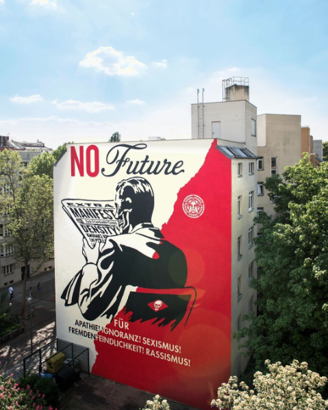 """NO Future"" by  Obey Giant"