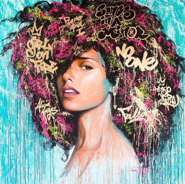 Alicia Keys by Noe Two