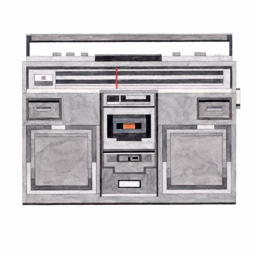 Adam Lister Boombox Panasonic RX-5100